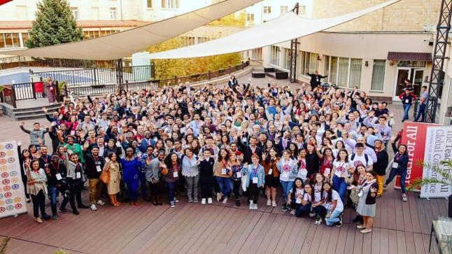 وفد من منظمة علِّم لأجل المغرب يحضر المؤتمر العالمي حول التعليم و القيادة بدولة أرمينيا.