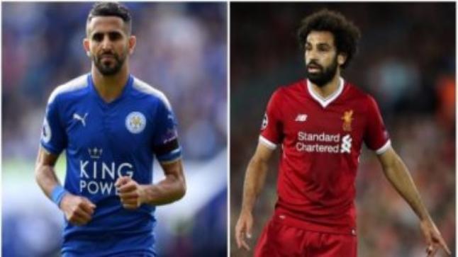 رد صارم من رياض محرز لاعب الجزائر على مستوى محمد صلاح مع مصر